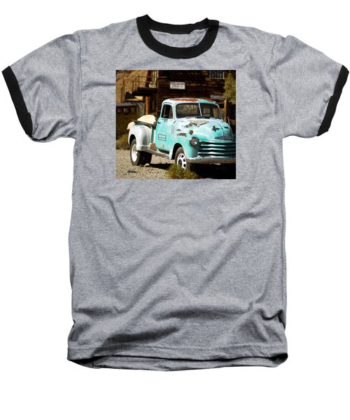 Techatticup Mine Ghost Town Nv Baseball T-Shirt by Marti Green