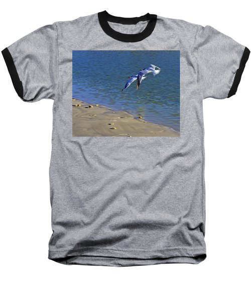 2 Terns In Flight Baseball T-Shirt