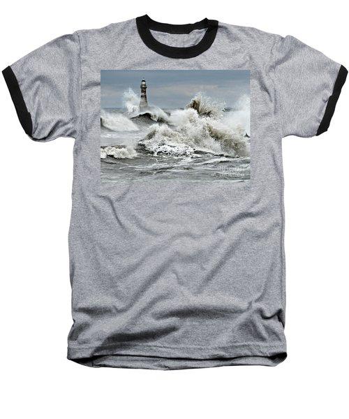 The Angry Sea Baseball T-Shirt