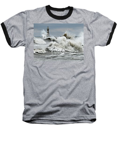 The Angry Sea Baseball T-Shirt