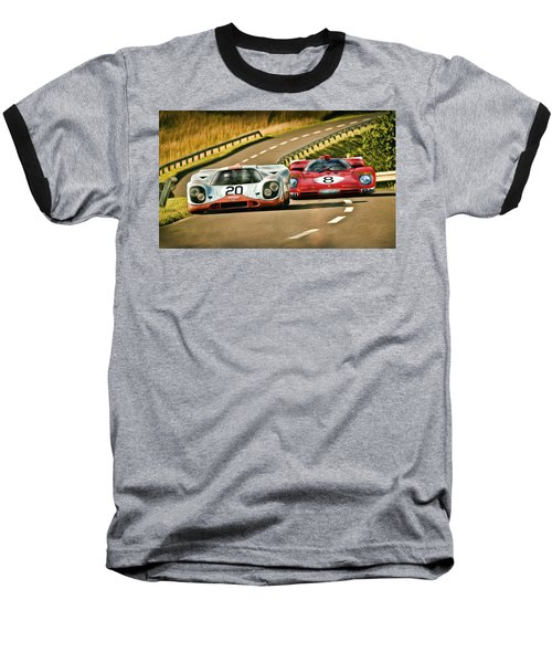 The Duel Baseball T-Shirt by Peter Chilelli