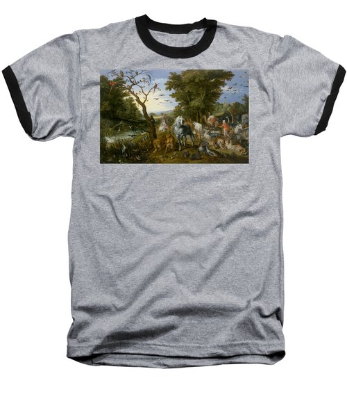 The Entry Of The Animals Into Noah's Ark Baseball T-Shirt