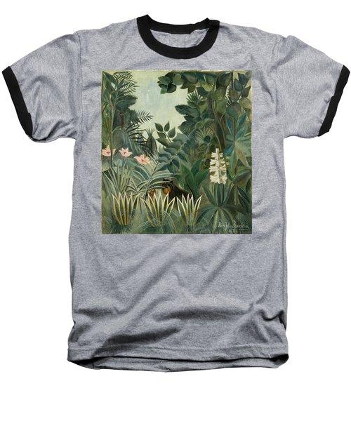 The Equatorial Jungle Baseball T-Shirt