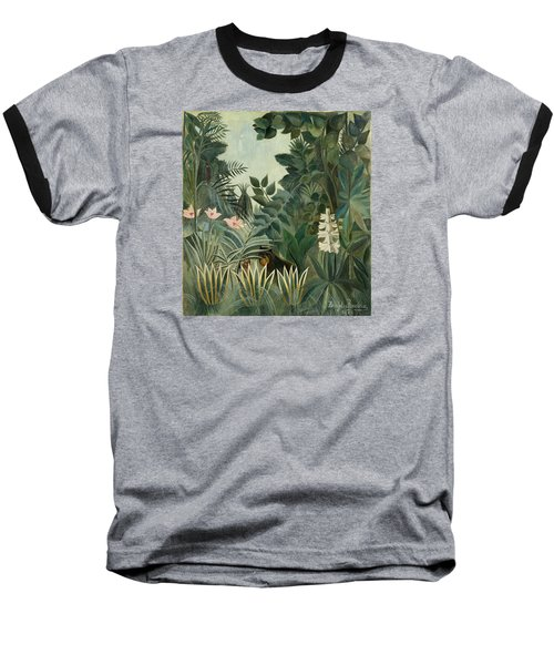 The Equatorial Jungle Baseball T-Shirt