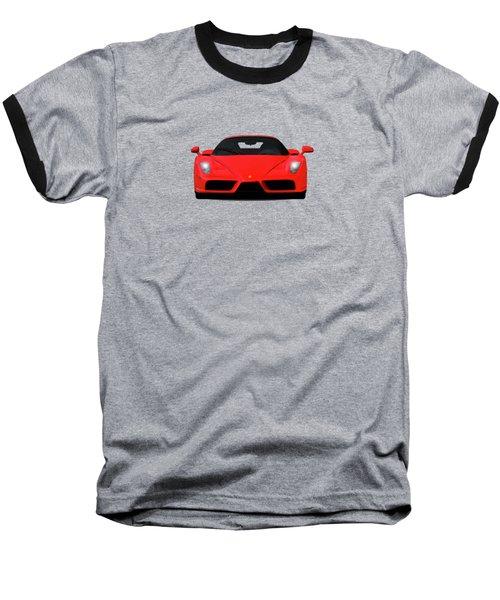 The Ferrari Enzo Baseball T-Shirt by Mark Rogan