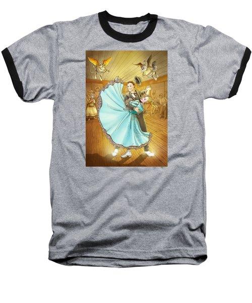 The Magic Dancing Shoes Baseball T-Shirt by Reynold Jay
