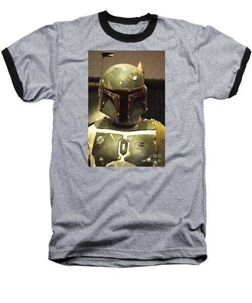 The Real Boba Fett Baseball T-Shirt by Micah May