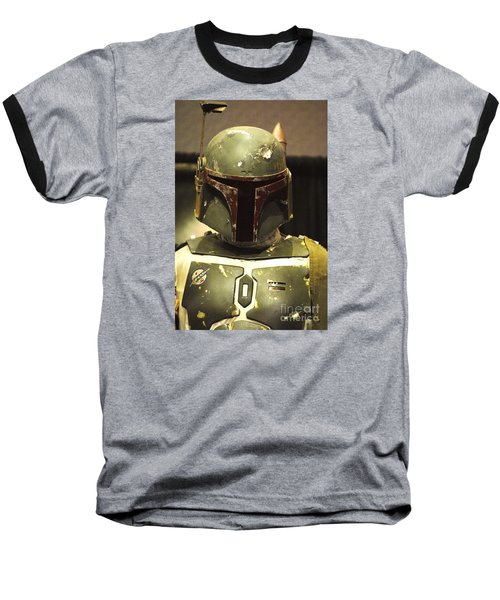 The Real Boba Fett Baseball T-Shirt