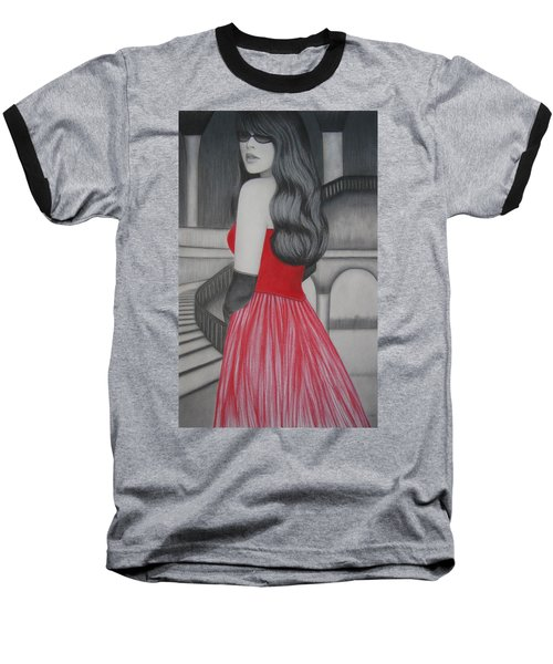 The Red Dress Baseball T-Shirt