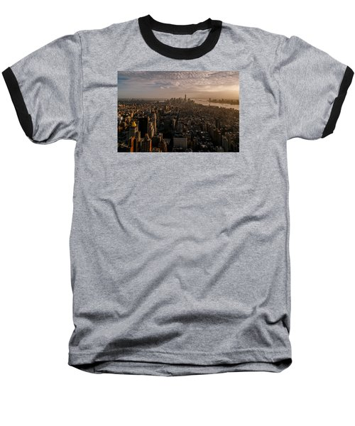 The View  Baseball T-Shirt by Anthony Fields
