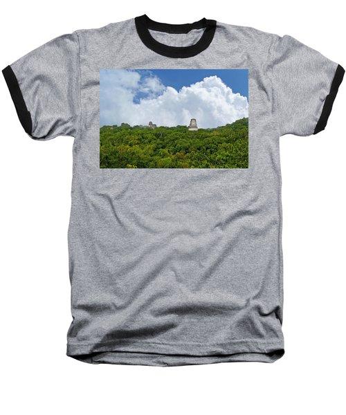 Tikal, Guatemala Baseball T-Shirt by Marius Sipa