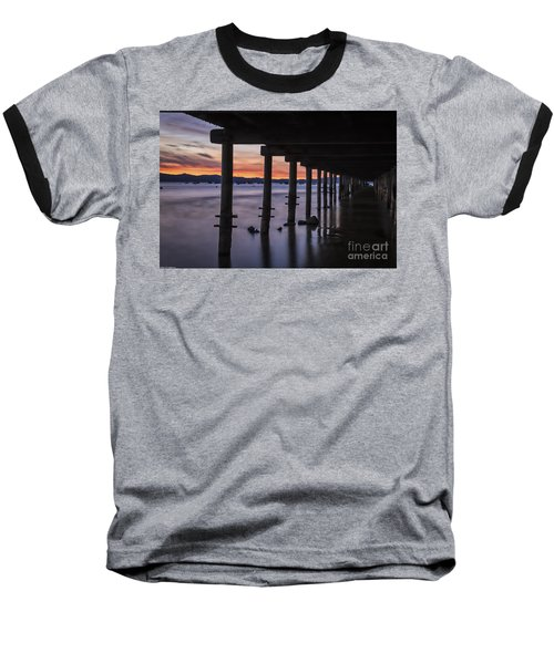 Baseball T-Shirt featuring the photograph Timber Cove by Mitch Shindelbower