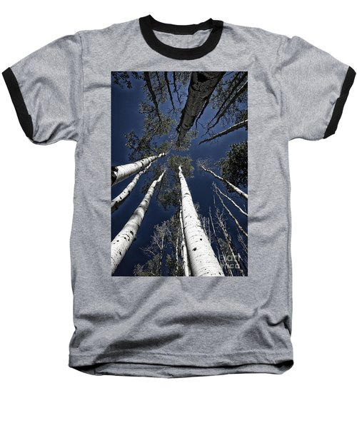 Towering Aspens Baseball T-Shirt
