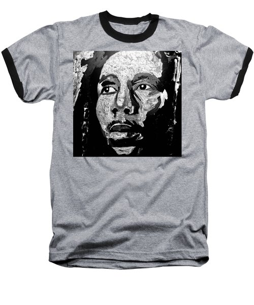 Tribute To Bob Marley Baseball T-Shirt