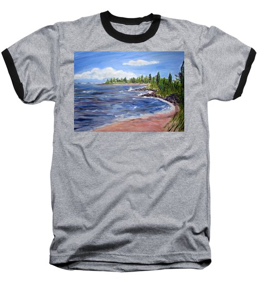 Trixies Cove Baseball T-Shirt by Clara Sue Beym