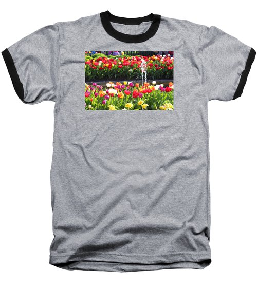 Tulip Festival Baseball T-Shirt