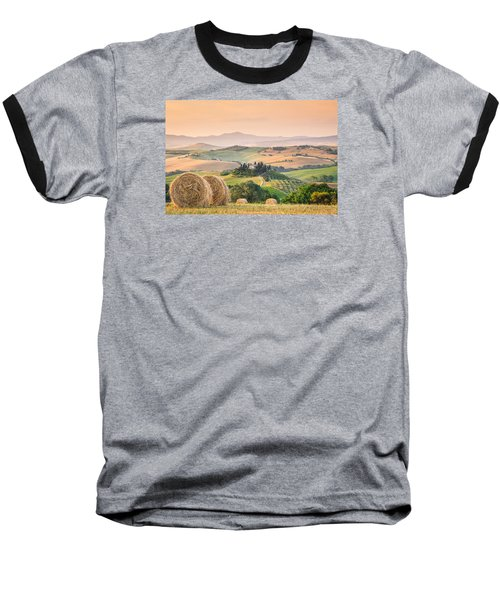 Tuscany Morning Baseball T-Shirt