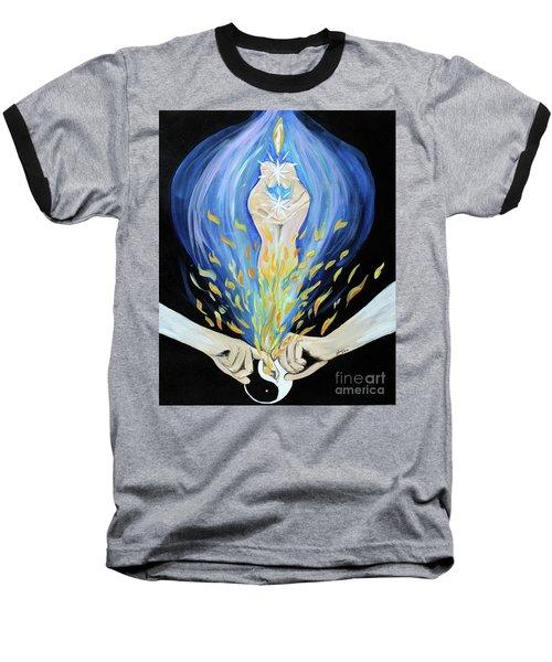 Twin Flame Baseball T-Shirt