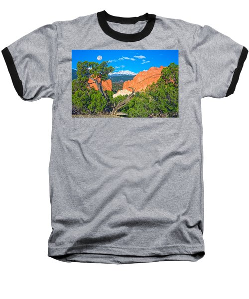 Typical Colorado  Baseball T-Shirt by Bijan Pirnia
