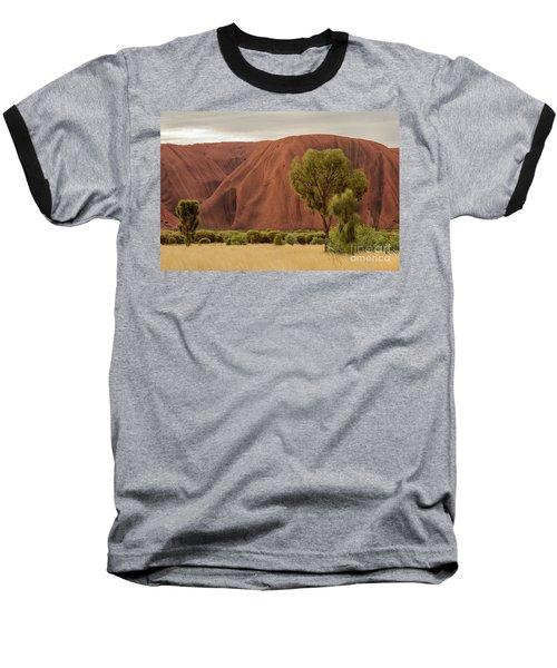 Baseball T-Shirt featuring the photograph Uluru 08 by Werner Padarin