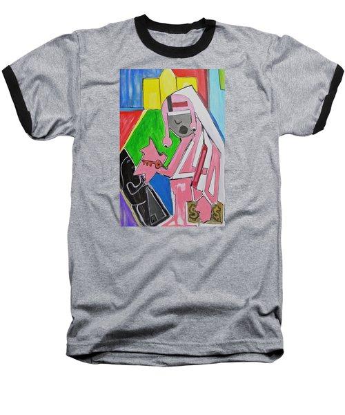 Untitled Baseball T-Shirt by Jose Rojas
