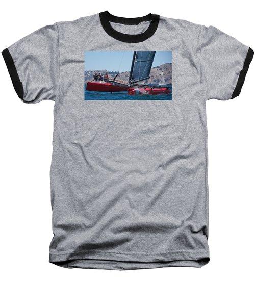 Upwind Spray Baseball T-Shirt