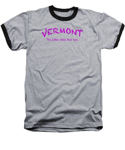 Vermont Little State Baseball T-Shirt