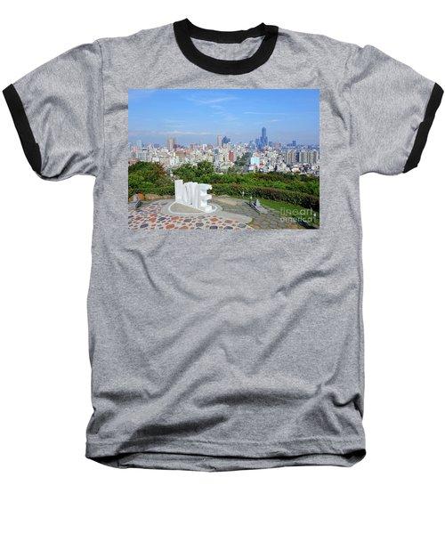 View Of Kaohsiung City Baseball T-Shirt by Yali Shi