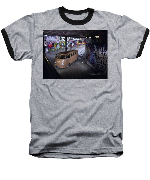 Volkswagen Microbus Baseball T-Shirt