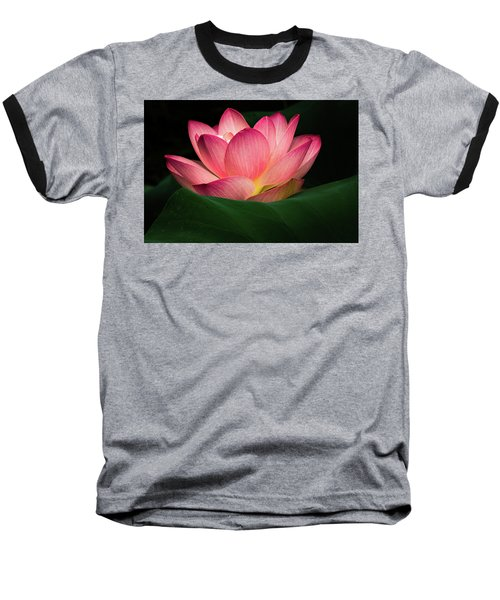 Baseball T-Shirt featuring the photograph Water Lily by Jay Stockhaus