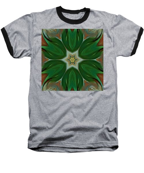 Watercolor Flower Art Baseball T-Shirt