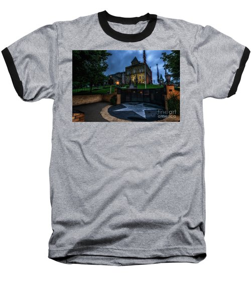 Baseball T-Shirt featuring the photograph Webster County Courthouse by Thomas R Fletcher