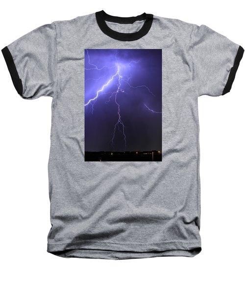 West Jordan Lightning 4 Baseball T-Shirt by Paul Marto