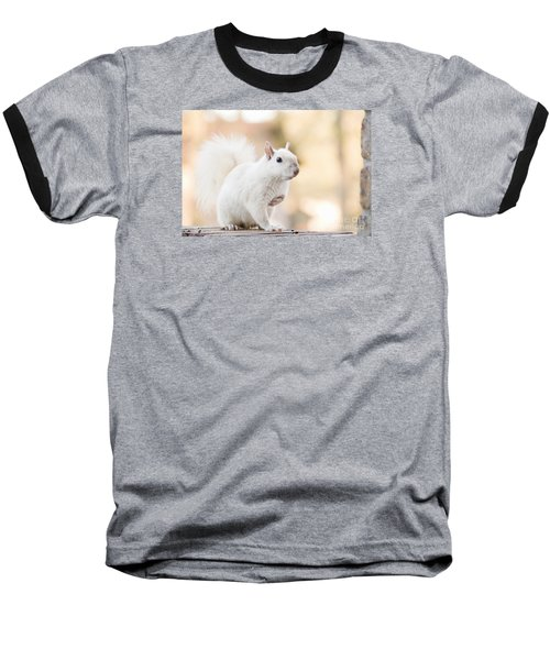 White Squirrel Baseball T-Shirt