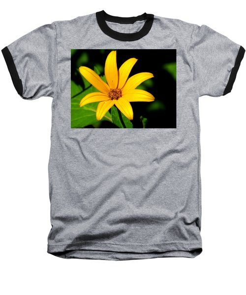 Baseball T-Shirt featuring the photograph Wild Flower by Eric Switzer