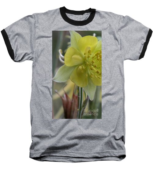 Yellow Flower 4 Baseball T-Shirt