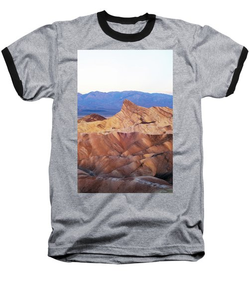 Baseball T-Shirt featuring the photograph Zabriskie Point by Catherine Lau