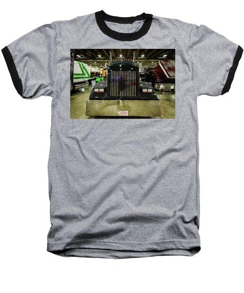 Baseball T-Shirt featuring the photograph 2000 Kenworth W900 by Randy Scherkenbach