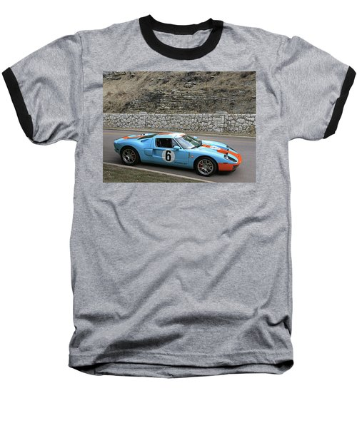 Baseball T-Shirt featuring the photograph 2006 Ford Gt  by Christopher McKenzie