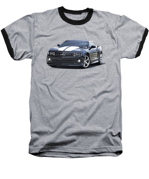 Baseball T-Shirt featuring the photograph 2010 Camaro S S R S by Jack Pumphrey