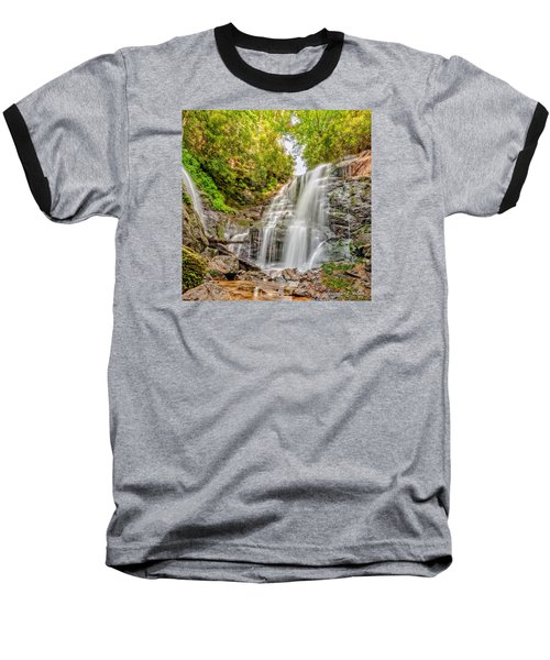 Baseball T-Shirt featuring the photograph Rocky Falls by Christopher Holmes
