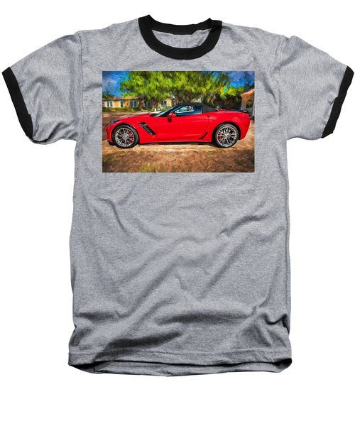 2015 Chevrolet Corvette Zo6 Painted  Baseball T-Shirt