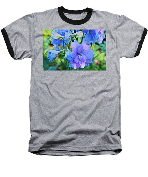 2015 Mid September At The Garden Larkspur 2 Baseball T-Shirt