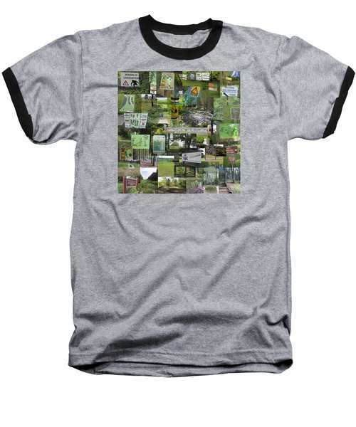 2015 Pdga Amateur Disc Golf World Championships Photo Collage Baseball T-Shirt by Robert Glover