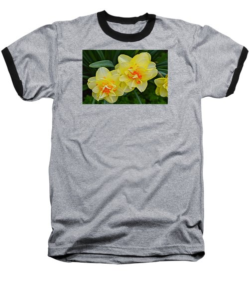 2015 Spring At The Gardens Tango Daffodil Baseball T-Shirt