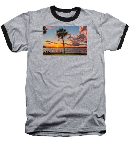 Baseball T-Shirt featuring the photograph Sunset Over Lake Eustis by Christopher Holmes