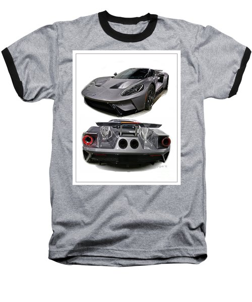 2016 Ford Gt Baseball T-Shirt