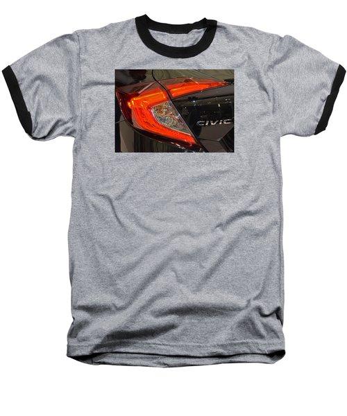 2016 Honda Civic Tail Light Baseball T-Shirt