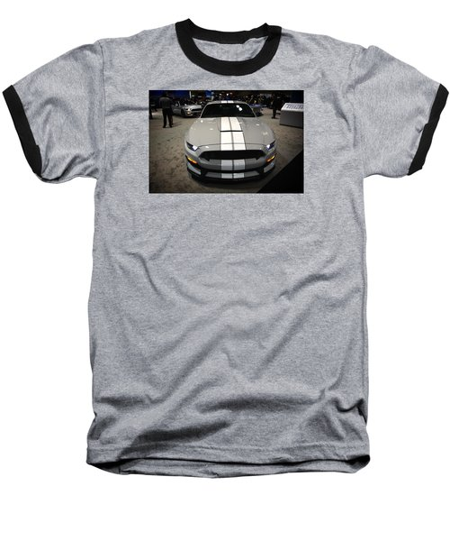 2016 Preproduction Ford Mustang Shelby Gt350 Baseball T-Shirt