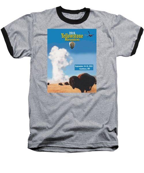 2016 Yellowstone Nps Reunion Baseball T-Shirt